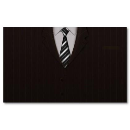 Αφίσα (κοστούμι, μαύρο, λευκό, άσπρο)